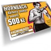Poukázka Hornbach 500 Kč