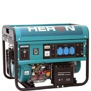 Elektrocentrála benzínová HERON EGM 55 AVR-1E  /13HP,5,5kW pro svařovaní, elektrický start