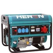 Elektrocentrála benzínová HERON EGM 60 AVR-3  /13HP/6,0kW(400V, 2,2kV (230V)/
