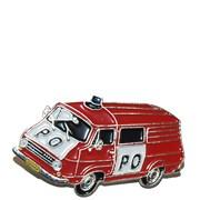 Odznak kovový hasičská auta - Hasiči Š 1203 /ruční barvení/