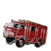 Odznak kovový hasičská auta - Hasiči TATRA 805 /ruční barvení/