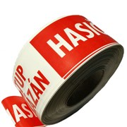Páska vytyčovací s potiskem HASIČI 500m /bílo-červená/