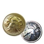 Knoflík 15mm zlatý - zapichovací
