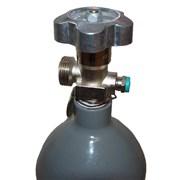 Lahev ocelová S2 CO2 Kovoslužba /ventil G-3/4 - plná/