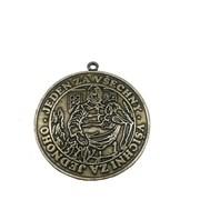 Medaile - hasičská 70mm / zlatá/