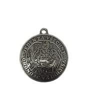 Medaile - hasičská 70mm /stříbrná/