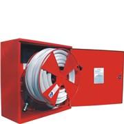 Hydrantový systém PH D19/20m /plná dvířka, proudnice ekv.6mm/ - rozměr 650/650/175mm