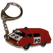 Přívěšek kovový hasičská auta - Hasiči Š 1203 /ruční barvení/