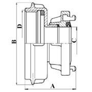 Přechod B75 DIN/ S110 (vnitřni závit)