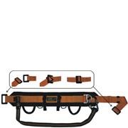Opasek AP1/1 pracovní  polohovací pás /hasičský/ a karabina Kong 786