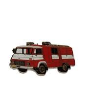 Odznak kovový hasičská auta - AVIA - 4cm /ruční barvení/