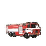 Odznak kovový hasičská auta - TATRA 815 - 4cm /ruční barvení/