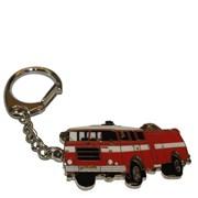 Přívěšek kovový hasičská auta - MATES - 6cm /ruční barvení/