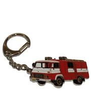 Přívěšek kovový hasičská auta - AVIA - 6cm /ruční barvení/