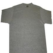 Tričko pánské krátký rukáv šedý melír /bez znaků a nápisů/