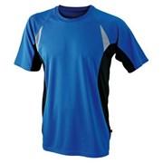 Tričko pánské funkční /dres/ pro požární sport JN391 modrý