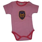 Body dětské - růžové - logo Hasičský záchranný sbor - DOPRODEJ
