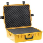 Kufr PELI 1600 žlutý s pěnou /bez přepážek/