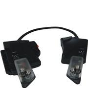 Svítilna integrovaná LED  pro přilbu Gallet F1 XF