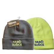 Čepice zimní /kulich/ HASIČI  + název obce