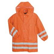"""Plášť reflexní oranžový  """"POŽÁRNÍK"""" /kožešinová vložka s rukávy/"""