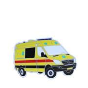 Magnet hasičské auto ZÁCHRANKA MB