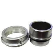 Spojka - hrdlo S110 hladké ocel speciál + matice  S110