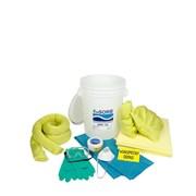 Souprava havarijní malá v kbelíku - chemická /sorbce 39l/
