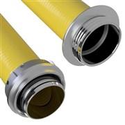 Savice 2,5m se šroubením Profi Extra, pr.110m, Flame 45 - žlutá