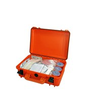 První pomoc - Lékárnička - Záchranářský kufr IP67 střední s náplní pro zásahová vozidla III