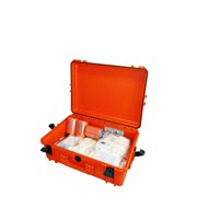První pomoc - Lékárnička - Záchranářský kufr IP67 velký s náplní pro zásahová vozidla III
