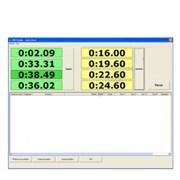 Překážky pro požární sport - časomíra - komunikace PC včetně SW