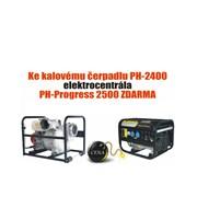 Čerpadlo kalové PH-2400 + elektrocentrála PH-Progress 2500 ZDARMA - AKCE do 30.6.2106