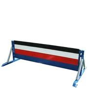 Překážky pro požární sport - bariéra 0,7/0,8x2m /příčné břevno/ s tartanem /trikolora/
