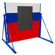 Překážky pro požární sport - bariéra 3v 1 - 1,5/1,7/2,0 x 2m s tartanem /trikolora/
