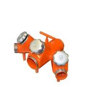 Rozdělovač pro požární sport - bez spojek /litina,16kg, barevný/