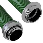 Savice 1,6 m se šroubením Profi-Extra, pr. 110 mm, Flame 75 - zelená