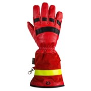 Rukavice zásahové Rosenbauer Fire Pro Red s manžetou